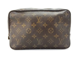 Louis Vuitton Trousse 23 Monogram Travel Dopp Toiletry Cosmetics Makeup Bag