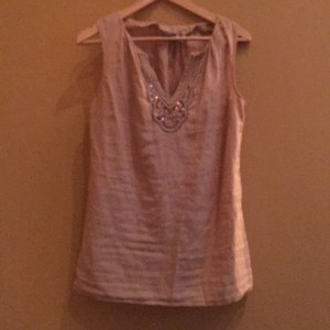 Eddie Bauer Top Golden beige