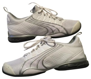 Puma White and silver Athletic