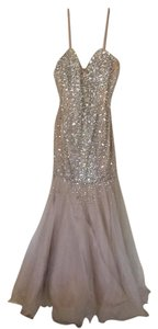 Terani Couture Couture Trumpet Formal Evening Embellished Dress
