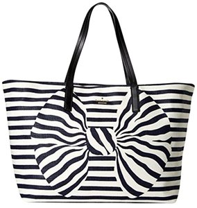 Kate Spade Tote in Navy / Cream striped