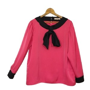 Saint Laurent Top Fuchsia