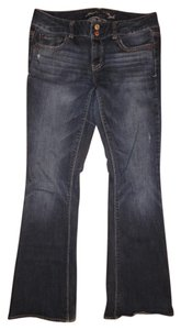 American Eagle Outfitters Stretchy Flare Leg Jeans-Distressed