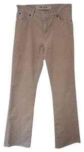 Gap Corduroy Casual Winter Boot Cut Pants Beige
