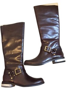 Vince Camuto Boot Leather Brown Boots