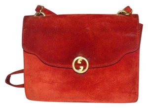 Gucci Early Style Dressy Or Casual Expandable Bottom Very Good Vintage 1960's Mod Style Shoulder Bag