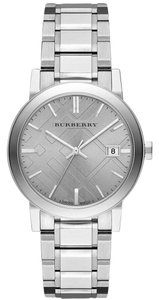 Burberry BU9035 Burberry the City Silver Check Stainless Womens Watch