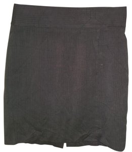Banana Republic Stretch Skirt Gray