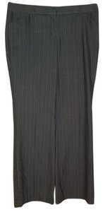 Express Pinstripe Trouser Pants Gray