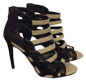 Enzo Angiolini Black and off white Sandals