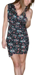 Torn by Ronny Kobo short dress Floral on Tradesy