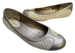 Cole Haan Nike Air 10b Leather Snake Ballet Multi-Color Flats