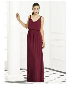 After Six Burgundy Burgundy Bridesmaids Style 6666 Dress Dress