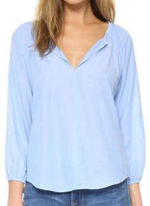 Velvet by Graham & Spencer Top Chambray