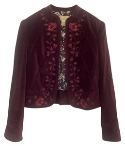 Lucky Brand Eclectic Maroon Jacket
