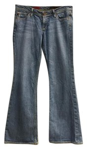 AG Adriano Goldschmied Classic Denim Boot Cut Jeans-Light Wash