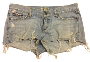Abercrombie & Fitch Cutoffs Cut Off Shorts Light Denim