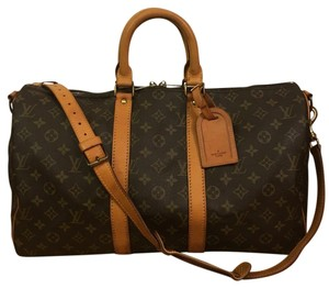 Louis Vuitton Vintage Keepall Bandouliere Monogram Travel Bag