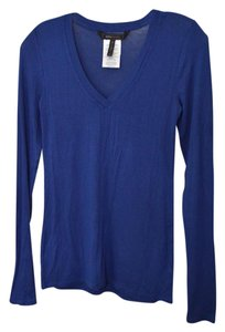 BCBGMAXAZRIA Modal Stretchy Top Blue