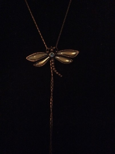 Other Bronze dragonfly necklace