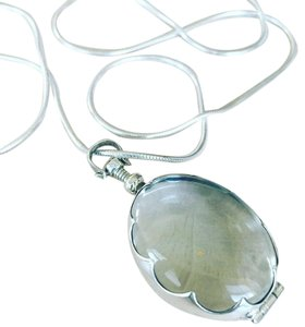 Emmyandellie Oval Antique Glass Locket
