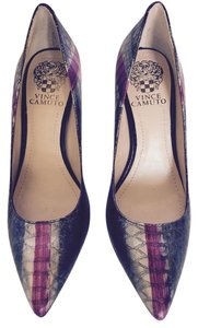 Vince Camuto Like New Metal Snake Pumps