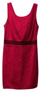 A|X Armani Exchange Sheath Reversible Sleeveless V-neck Dress