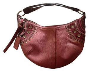 Coach Leather Edgy Shoulder Bag