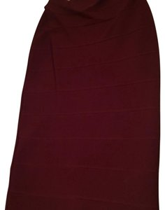 BCBGMAXAZRIA Skirt Bordeaux