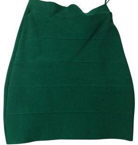 BCBGMAXAZRIA Mini Skirt Ultra Green