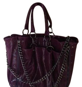 Hype Tote in purple