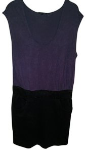 Daisy Fuentes short dress Purple on Tradesy