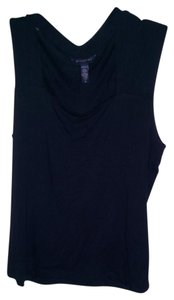 Banana Republic Stretch Sleeveless Top Black