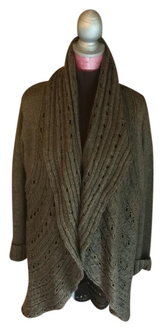 Item - Brown/Beige Wrapped In Warmth Poncho/Cape Size 14 (L)