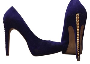 Steve Madden High Heels Purple Gold Pumps