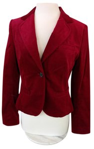 The Limited Burgundy Blazer