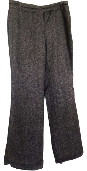 Item - Black/Grey Herringbone Relaxed Trouser Pants Size 8 (M, 29, 30)