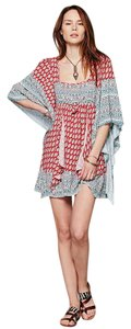 Free People short dress Red Combo on Tradesy