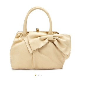 Valentino Satchel in Cream