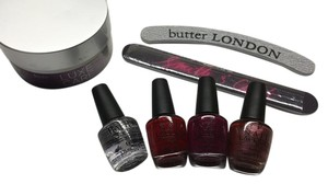 OPI Mini Nail Polishes, Nail files and Julep Nail Cream