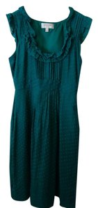Anthropologie short dress Emerald Green Size 0 X-small Small 0 on Tradesy