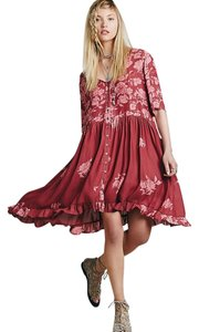 Free People short dress Berry on Tradesy