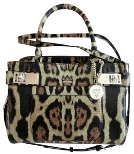 Guess Satchel in Leopard Multi