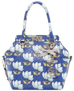 Guess Satchel in Cobalt Multi