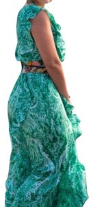Green (multi) Maxi Dress by BCBGMAXAZRIA