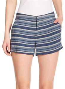 Joie Striped Blue Linen Dress Shorts