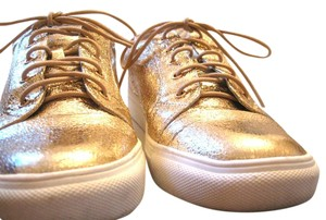 Sole Society Sneakers Gold Flats