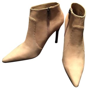 Colin Stuart Stiletto Light Tan Leather Boots
