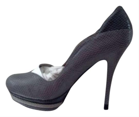 Eddie Marc Grey Pumps