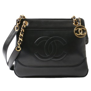 Chanel Vintage Lambskin Tote in Black